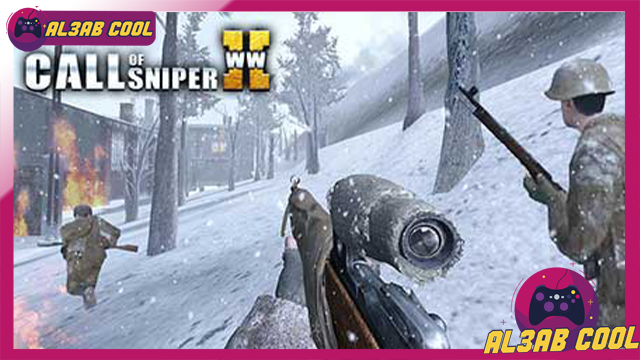 تحميل لعبة Call of Sniper WW2 MOD للأندرويد من الميديا فاير