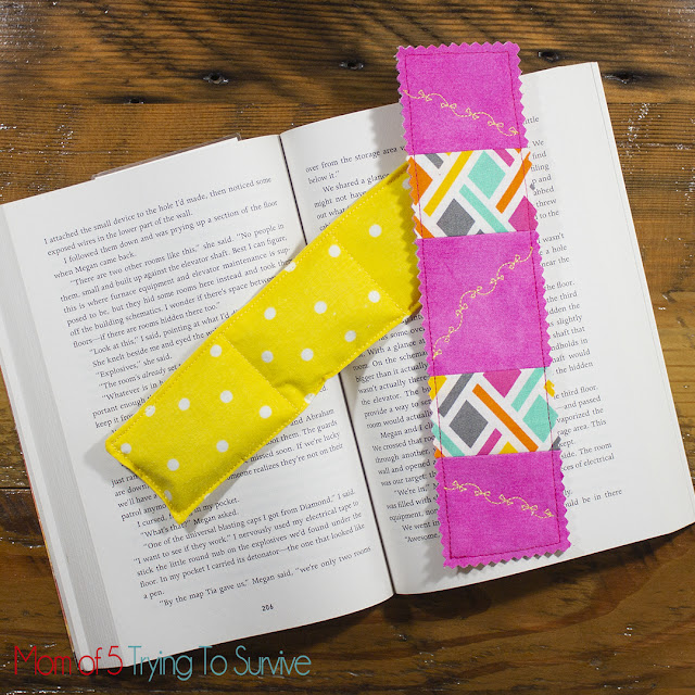 how to make weighted bookmark