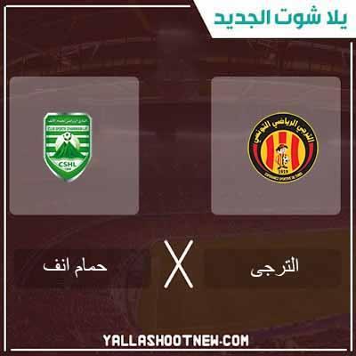مشاهدة مباراة الترجى وحمام الانف بث مباشر اليوم 23-02-2020 فى الدورى التونسى