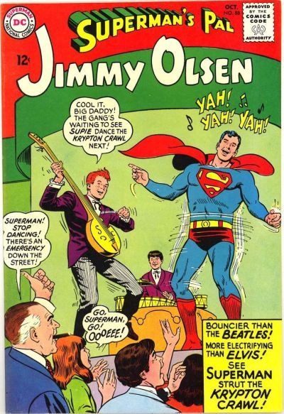 Episode #388 Part V: Superman Family Comic Book Cover Dated October 1965: Superman's Pal Jimmy Olsen #88!
