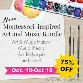 Montessori-inspired Art and Music Bundle