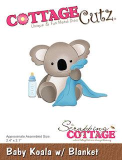 http://www.scrappingcottage.com/cottagecutzbabykoalawblanket.aspx
