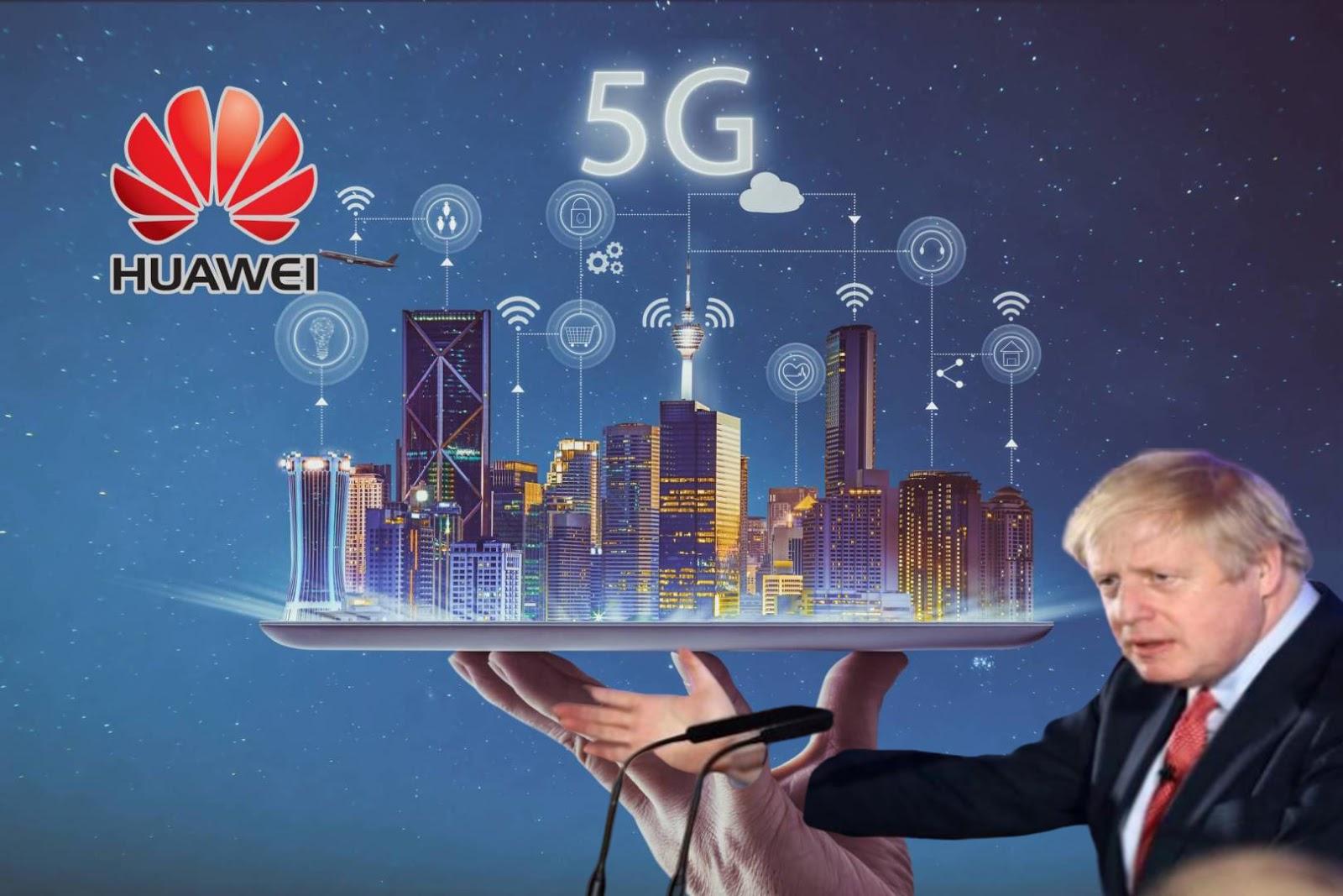 بريطانيا تسمح لهواوي ببناء شبكات 5G  بالرغم من التحذير الأمريكي
