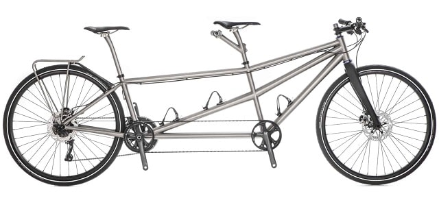 best tandem bike titanium frame hilite bicycles partner cycling 2 seats