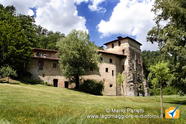 Complesso del monastero di Torba dall'esterno
