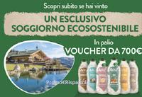 Adez : vinci 30 voucher da 700€ per soggiorni ecosostenibili