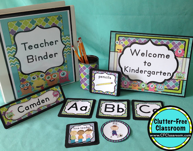 Monster Classroom Decor : Monsters themed classroom ideas printable