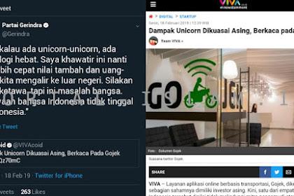 Sempat Diejek Tak Paham, Ternyata Prabowo BENAR Soal Fakta Unicorn