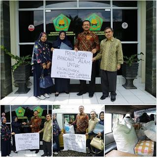 Peduli Bencana Cirebon dan Kuningan, KKRA Majalengka Salurkan Bantuan