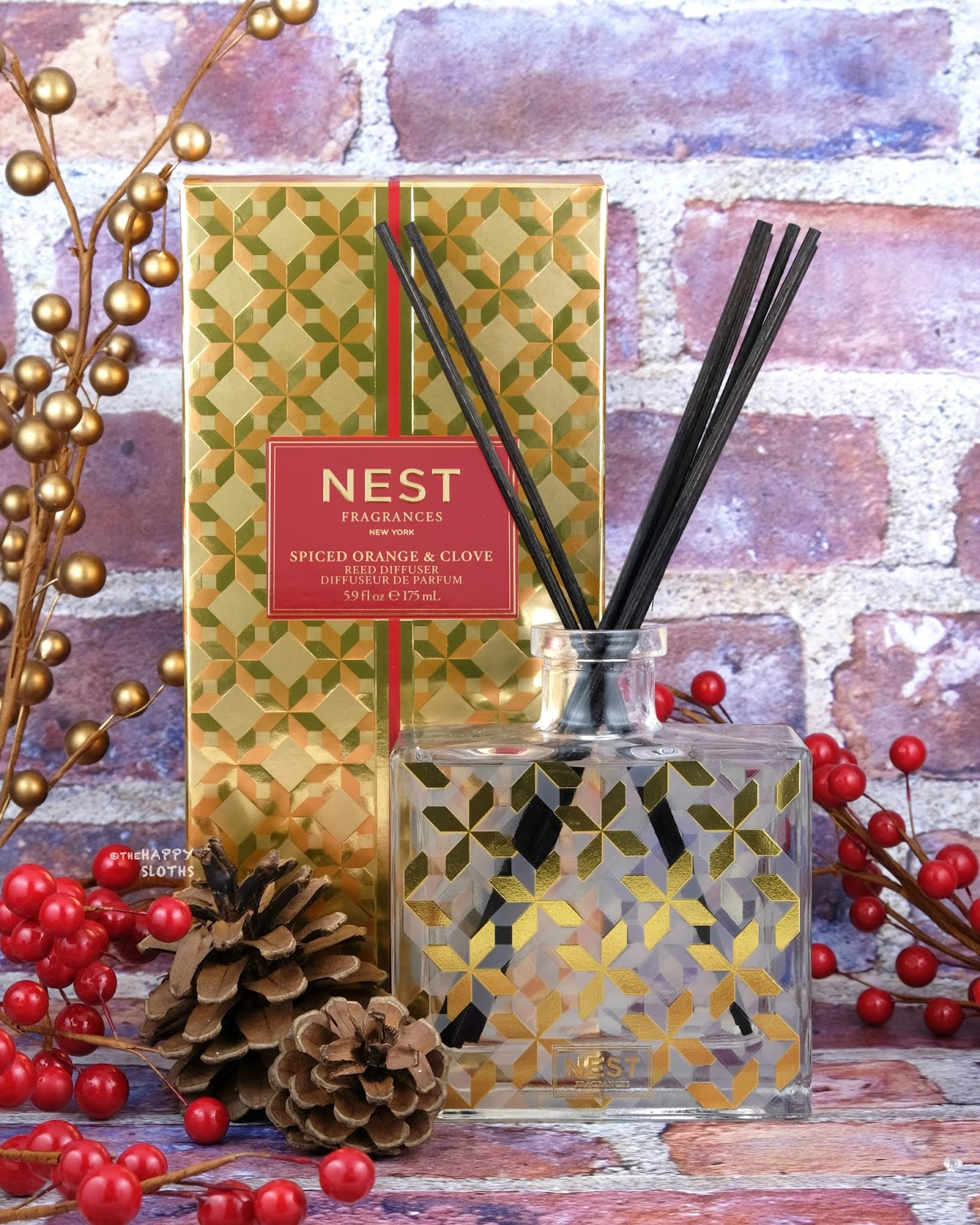NEST Fragrances | Holiday 2019 Spiced Orange & Clove Reed Diffuser: Review