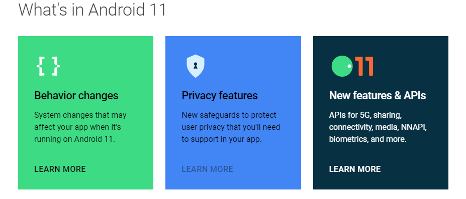 La prima Developer Preview di Android 11 è disponibile al download