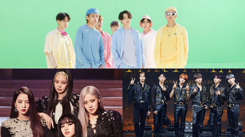 BTS, BLACKPINK and MONSTA X Nominated as The Best Group at The '2020 MTV Video Music Awards'