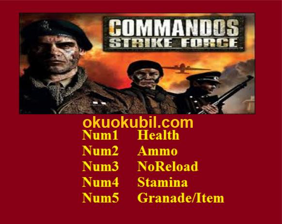 Commandos Strike Force (PC) Sekmeme + Bomba Trainer Hile İndir