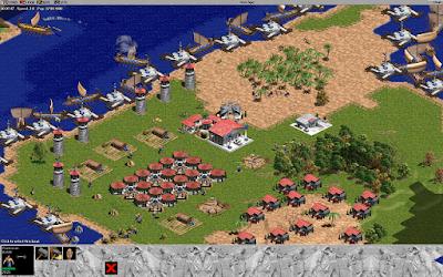 AOE 1 cùng 2 cùng nền đồ họa 2D vẫn được đông nghịt gamer ngưỡng mộ