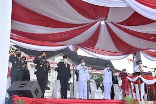 Perdana Gubernur Jambi Irup Memperingati HUT Kemerdekaan RI Ke 76