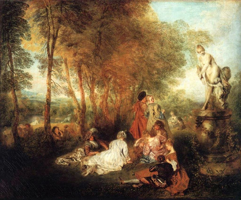 The Festival of Love by Jean-Antoine Watteau, 1717