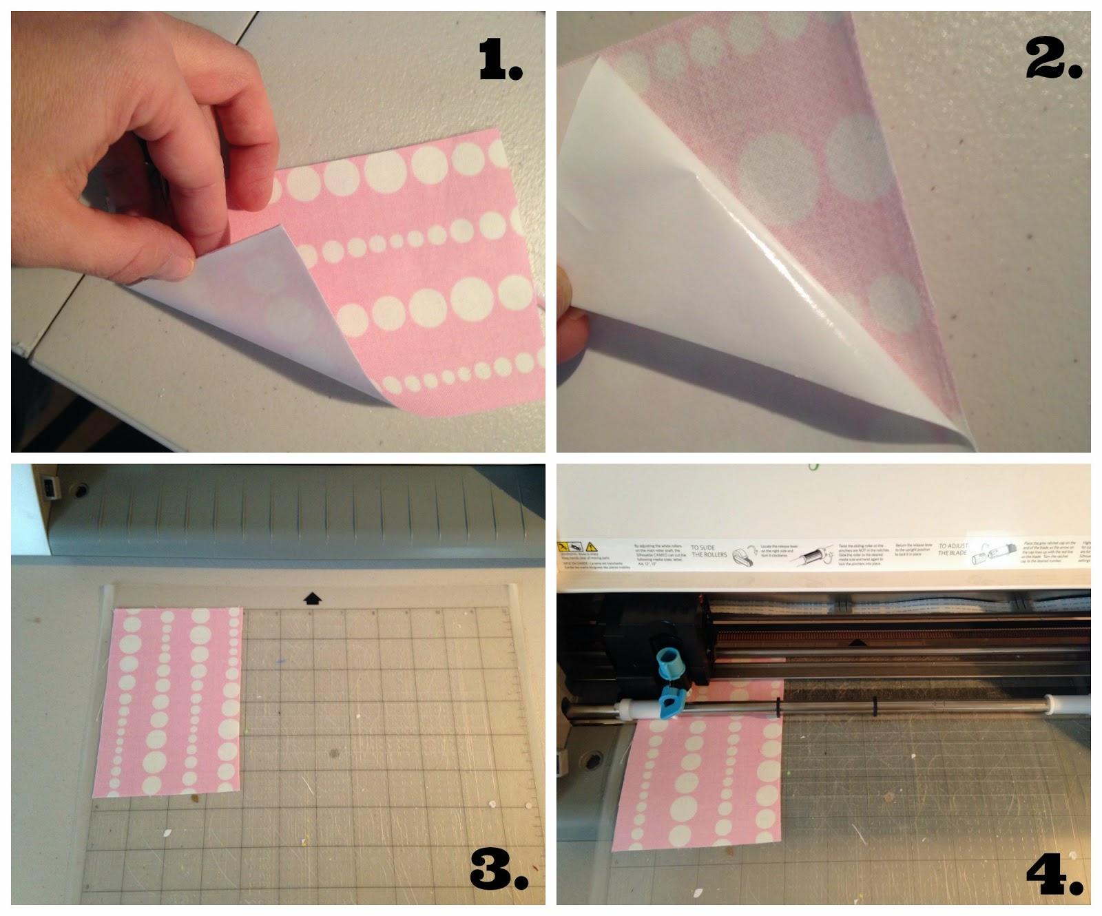 Silhouette tutorial, fabric, glitter HTV, glitter heat transfer vinyl, Silhouette Studio