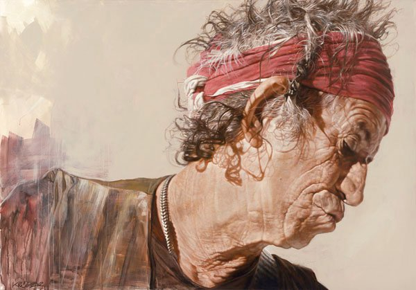 Keith Richards - New Pop Realism - Sebastian Krüger 1963