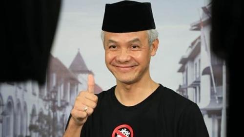 Dahsyat! Elektabilitas Ganjar Makin Tak Terkalahkan, Dibuntuti Anies Baswedan dan Ridwan Kamil