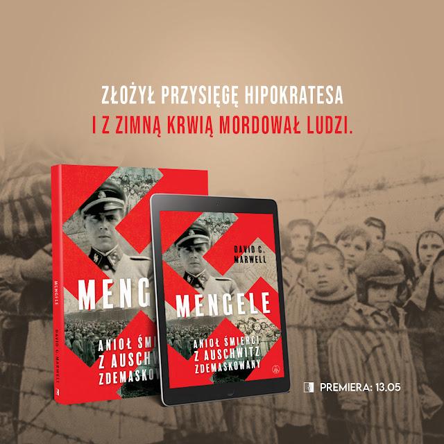 """Wyniki konkursu z książką """"Mengele. Anioł Śmierci z Auschwitz zdemaskowany"""""""