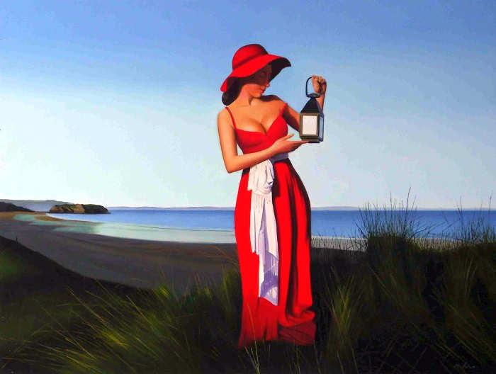 Элегантность в живописи. Michael de Bono 17