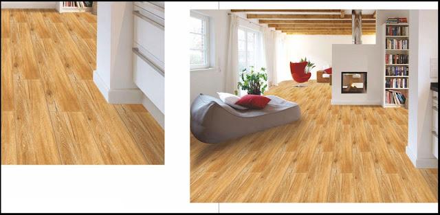 Vitrified tiles design wooden finish
