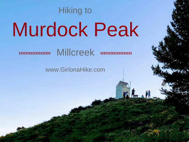 Hiking to Murdock Peak via Millcreek Canyon