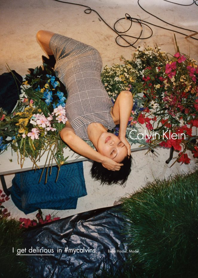 Bella Hadid – Calvin Klein #myCalvins Fall 2016 Campaign