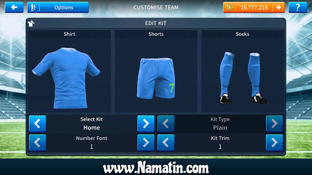 Kaos Dream League Soccer Polos 2020