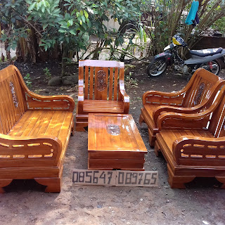 Desain kursi tamu minimalis kayu paling laris di pasaran