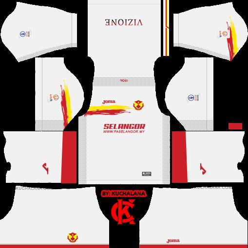5396ecc6c9d Selangor FA 2019 Kit - Dream League Soccer Kits - Kuchalana