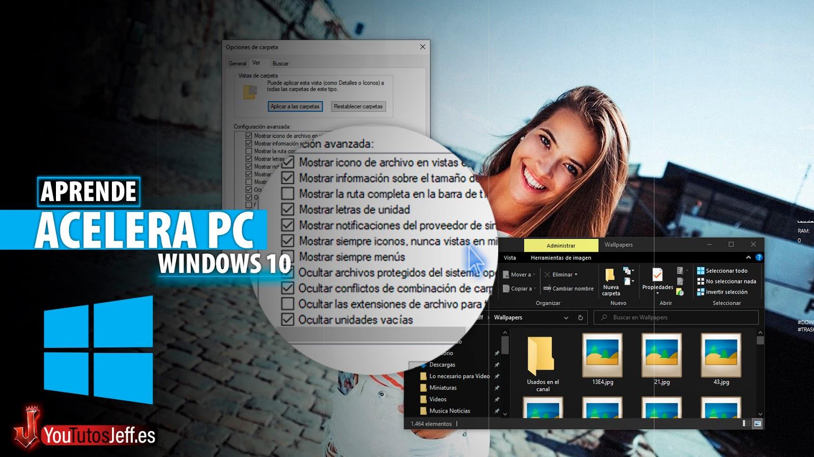 Acelera Windows 10 Desactivando esta Casilla