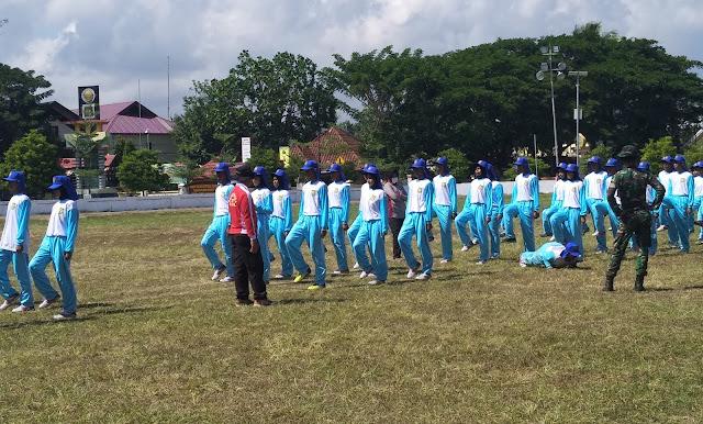 Paskibra Selayar 2019 Digenjot, Latihan Fisik Dan Formasi PBB