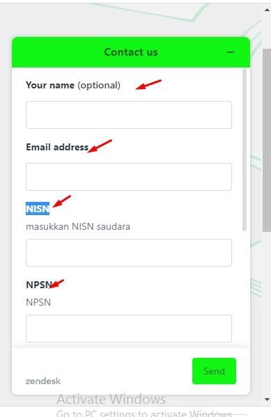 Form Helpdesk KIP Kuliah,