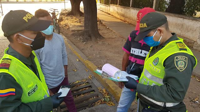 300 policías refuerzan los controles en Valledupar