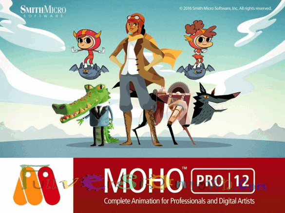 Smith Micro Moho Anime Studio Pro Full Version