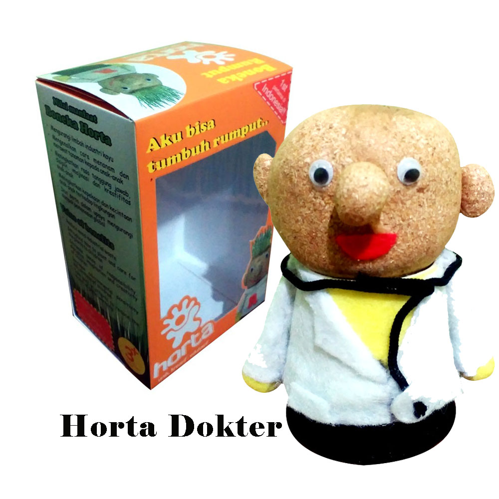 Pusat Boneka Horta Potty Go Green 081218187363
