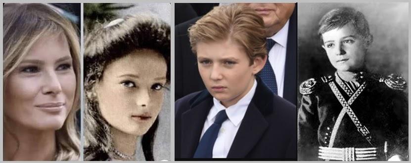 Le Portail du Grand Changement: Melania Trump est descendante de la Famille  Romanov !