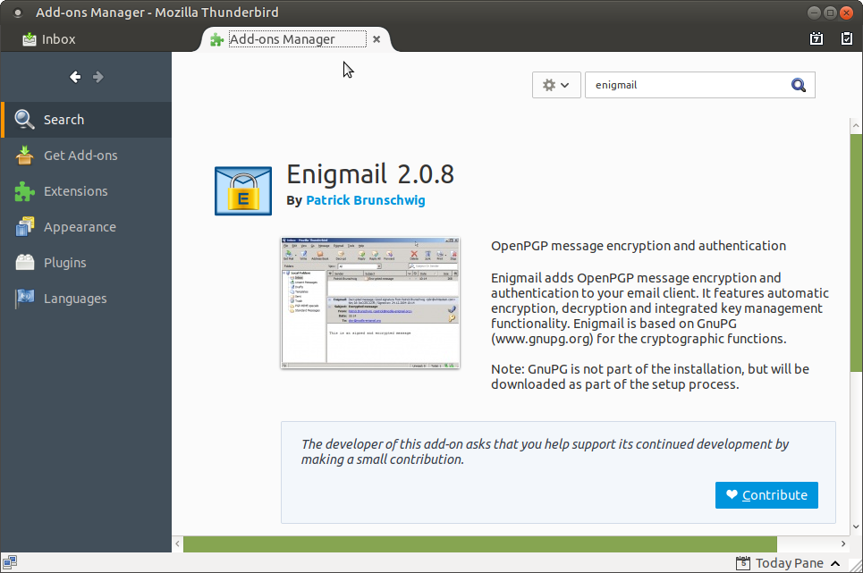 Ubuntu Buzz !: Import and Export Keys in Enigmail