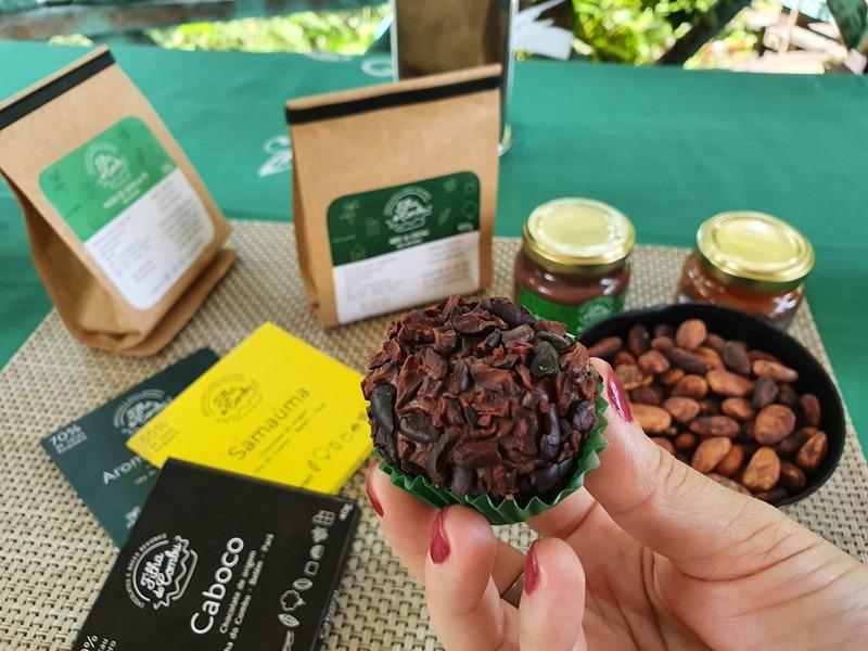 Ilha do Combu rota do chocolate Belém