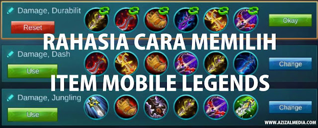 Rahasia Cara Memilih Item Hero Mobile Legends
