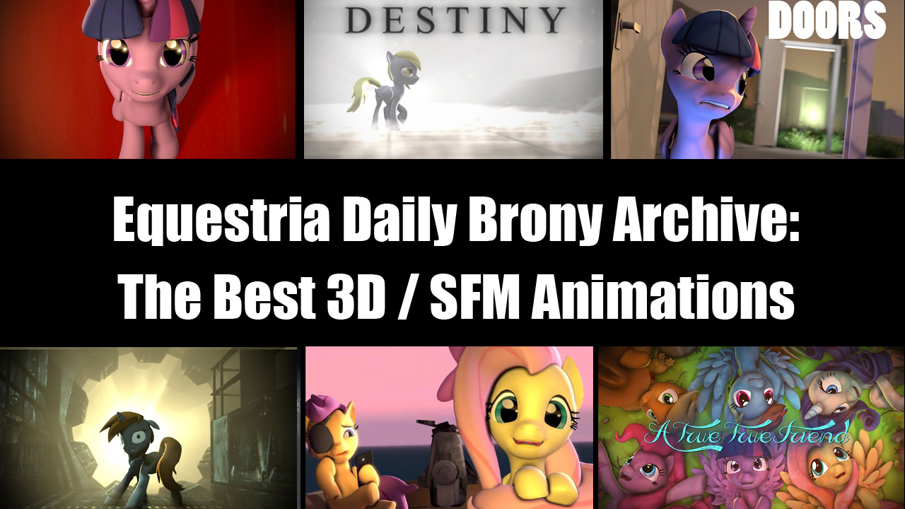 Equestria daily mlp stuff the best of brony 3d for 3d film archive