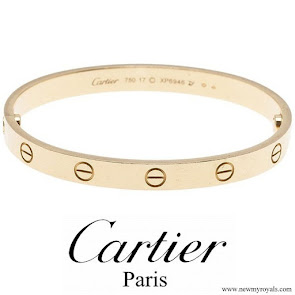 Meghan Markle wore Cartier Love Yellow Gold Bracelet