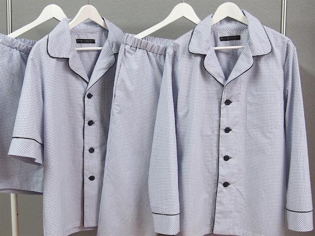 mens bespoke pajamas classic cotton pyjamas men personalized pajama set