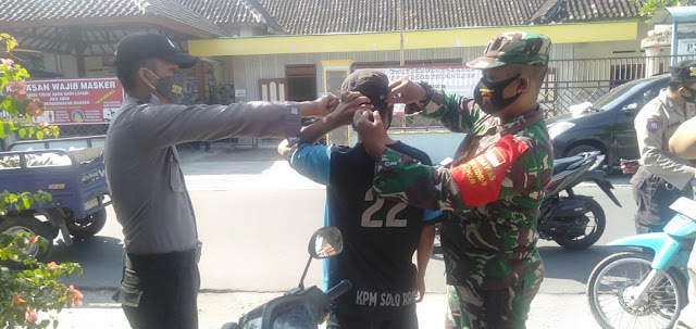 Babinsa Koramil 23/Ceper tetap Jaga Silaturahmi di situasi Pandemi Covid 19