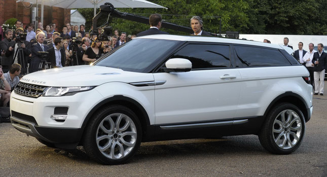 world of cars range rover evoque information and price. Black Bedroom Furniture Sets. Home Design Ideas
