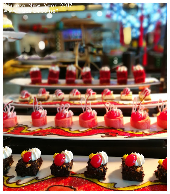 Desserts at UNO Restaurant,Waterfront Airport Hotel and Casino