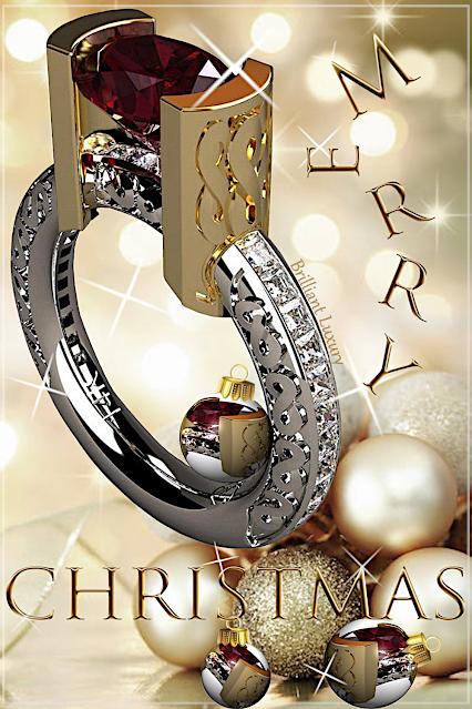 Greg Neeley Jewelry Christmas Edit Infinity Ring #brilliantluxury