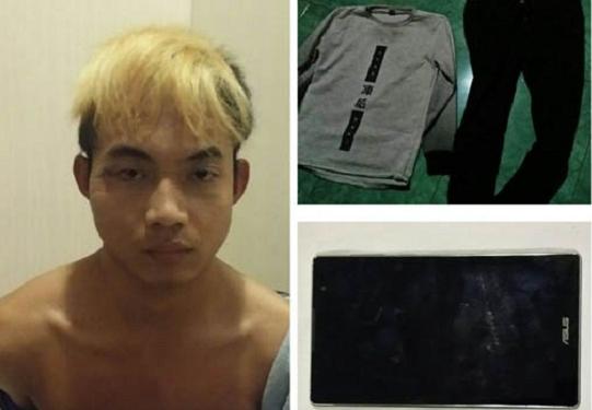 penangkapan Ahmad Faisal, aparat mengamankan sejumlah barang bukti yang diduga terkait dengan pembunuhan Cici Anisa Wahab. Diantaranya adalah dua unit ponsel pintar, baju kaos dan celana yang digunakan pelaku.