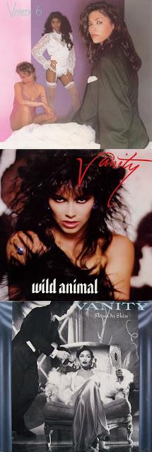 Cover Album of Vanity - Vanity 6 (1982), Wild Animal (1984) & Skin On Skin (1986) TRIPLE POST!!!